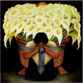 El vendedor de alcatraces. Diego Rivera