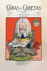 Revista Caras y Caretas 29-10-1898