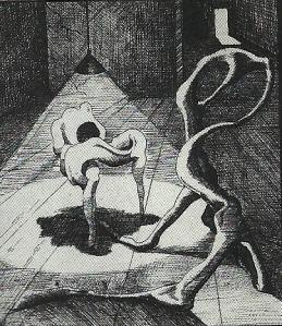 Dibujo: Walter Solón Romero Gonzales